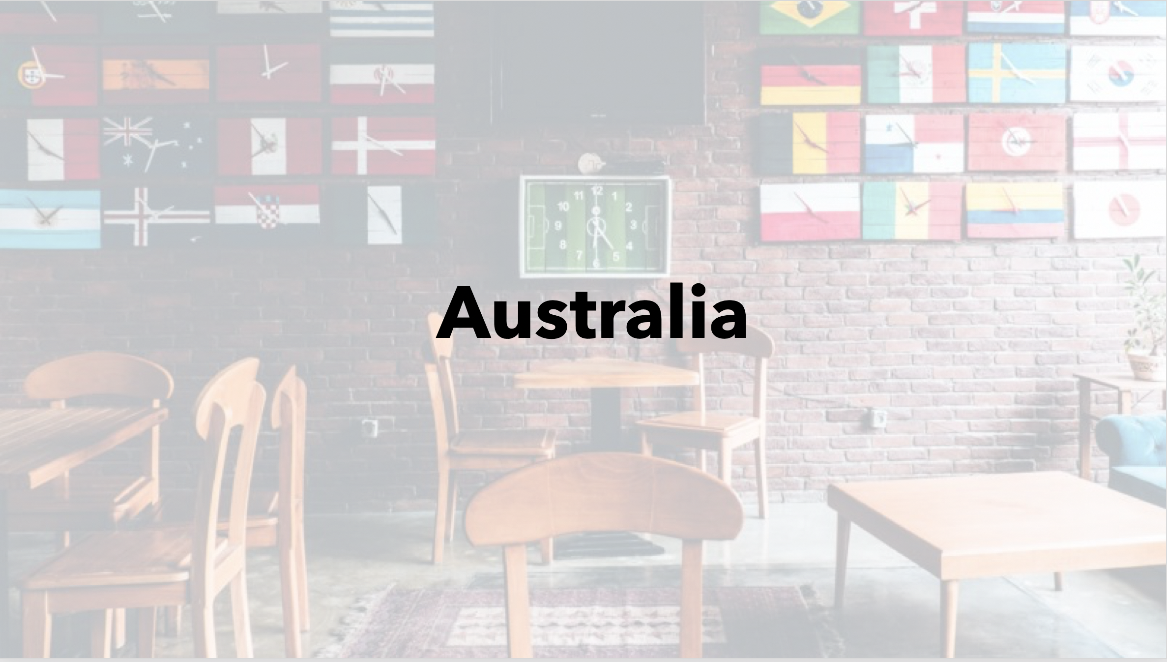 Australia with Beautiful Minds