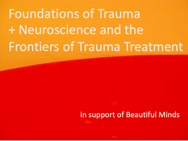 Foundations of Trauma +  Neuroscience & Frontiers of Trauma Treatment with Beautiful Minds